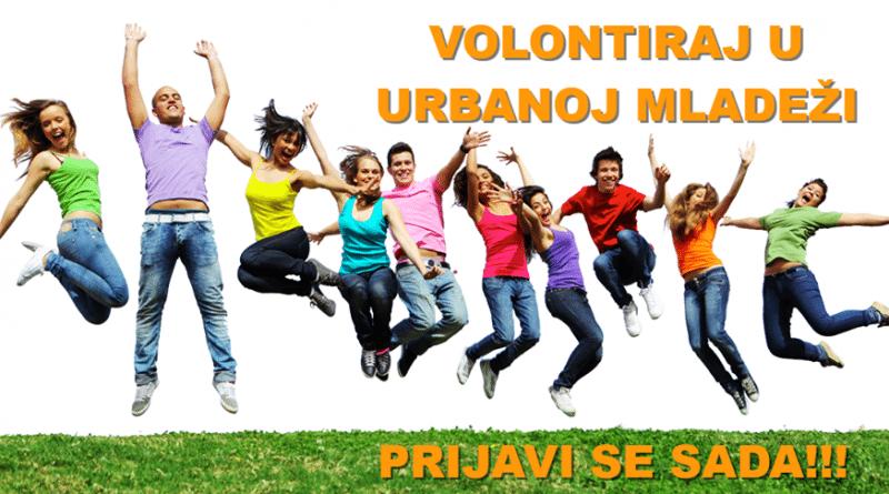 Volontiranje u Urbanoj mladeži – Prijavi se :)